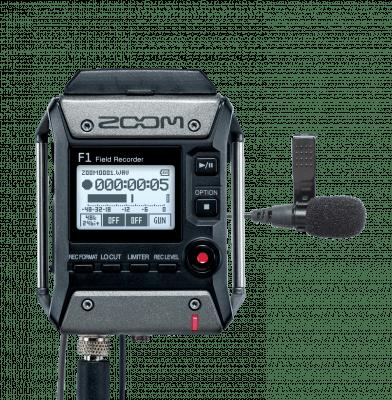 Zoom F1 snemalnik najem zvoka slovenija rent